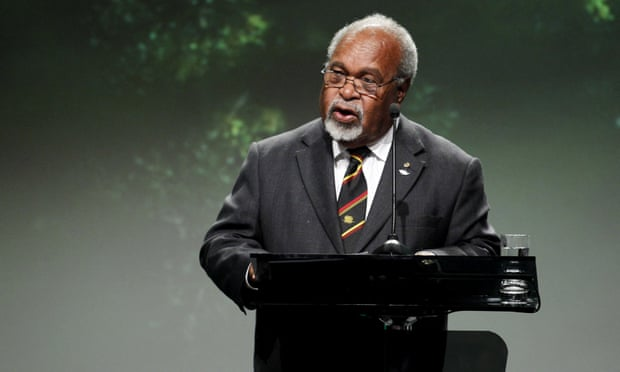 Papua New Guinea's first prime minister Michael Somare dies