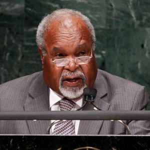 Michael Somare, Papua New Guinea's 1st prime minister, dies